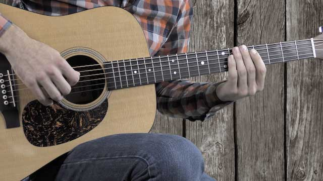 country guitar licks bluegrass flatpicking licks key of D guitar lesson
