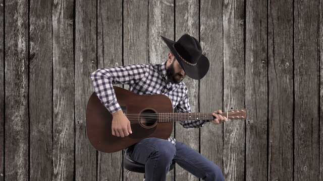 easy beginner country strumming patterns guitar lesson tutorial bluegrass rhythm