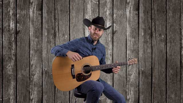 wayfaring stranger guitar lesson johnny cash country bluegrass