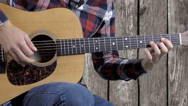 easy beginner 12 bar blues guitar lesson turnaround riffs