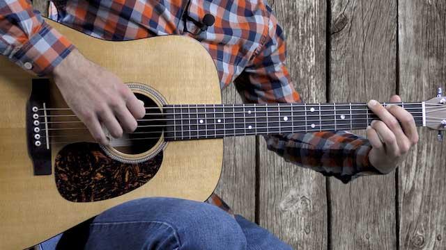 beginner country hybrid picking chord embellishments