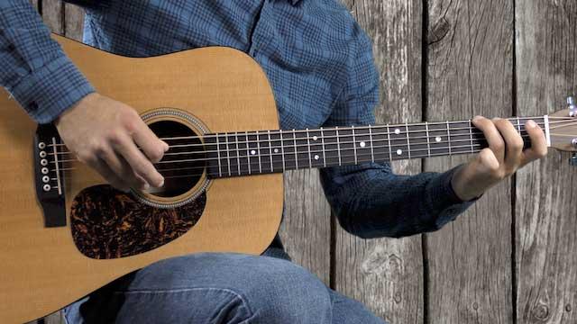 john hardy bluegrass guitar solo break