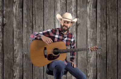hybrid picking rhythm with melody line folk country music guitar lesson