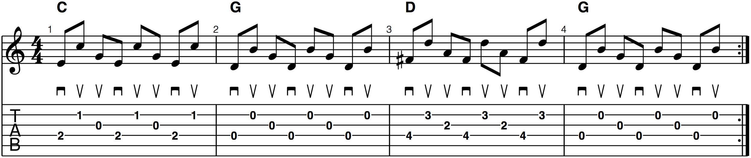 backward roll crosspicking alternate picking bluegrass