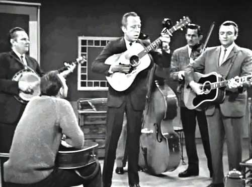 george shuffler bluegrass crosspicking guitar technique