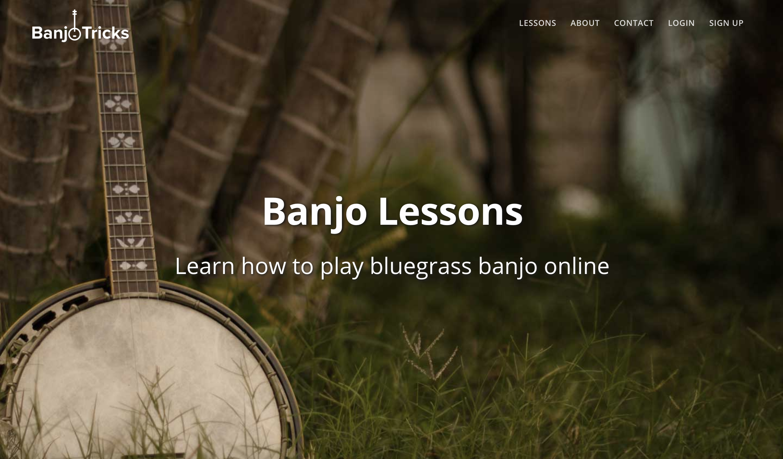 bluegrass banjo lessons online beginner course