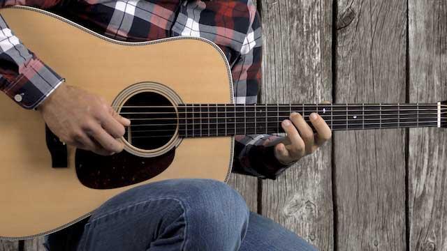tony rice bluegrass guitar licks