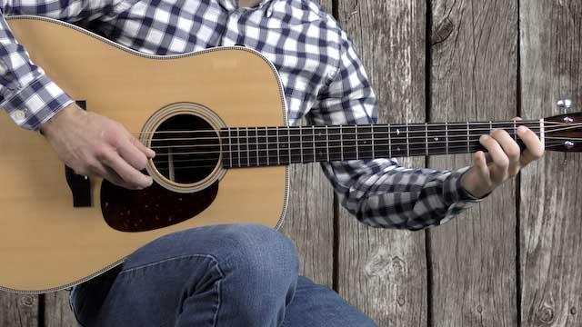 build a break cripple creek bluegrass flatpicking guitar licks