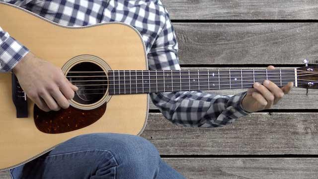 country guitar lick in e cl-e0003